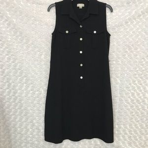 Calvin Klein Womens Black Dress Work Casual Sz 4